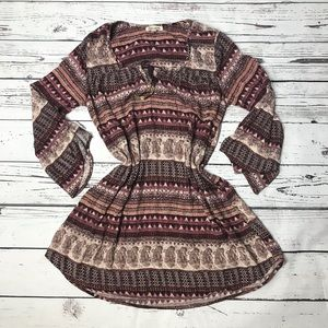 Billabong boho dress